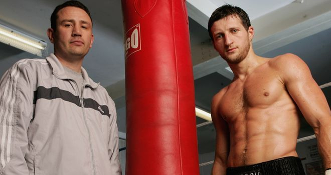 McCracken and Froch: Successful duo