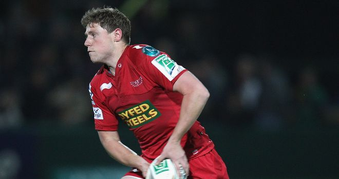 Rhys Priestland: walking around in the changing room after the game