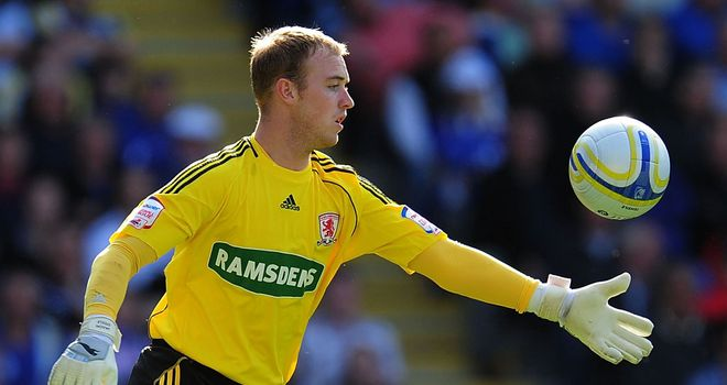 Jason Steele: Middlesbrough goalkeeper has been praised by manager Tony Mowbray