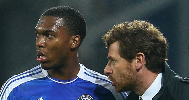 Andre Villas-Boas: Will see out his contract at Chelsea, according to Sturridge