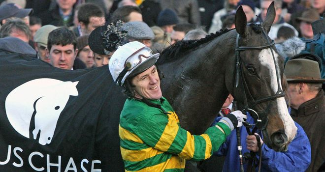 Synchronised: Won the Lexus Chase in style under an inspired Tony McCoy