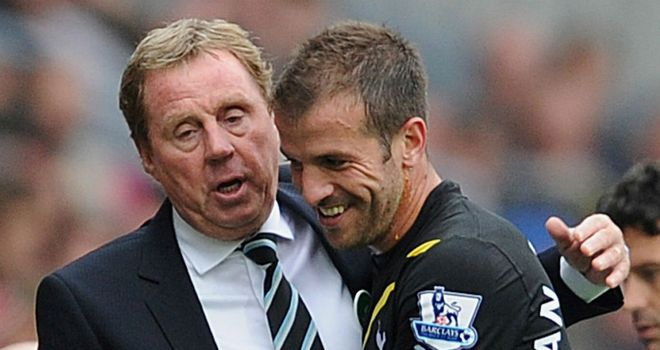 Rafael van der Vaart: Backing Harry Redknapp to take over as England manager