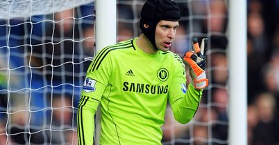 Petr Cech: Buoyed by Chelsea's first leg display against Barcelona
