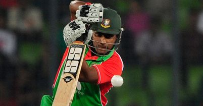 Imrul Kayes: steered Bangladesh A home with 110 not out
