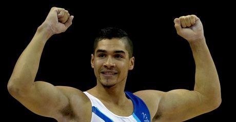 Louis Smith: Captain at Olympic test event