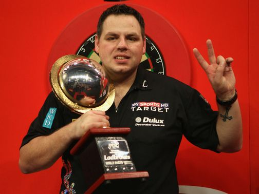 Adrian Lewis: Starts against Gino Vos