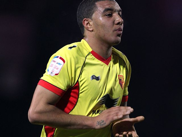 Troy Deeney: Scored with his first touch.