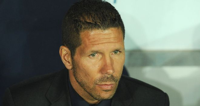 Diego Simeone: Has masterminded Atletico's flying start