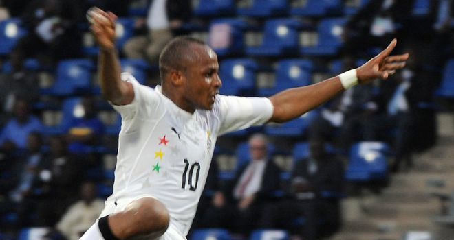Andre Ayew: Scored extra-time winner for Ghana against Tunisia on Sunday