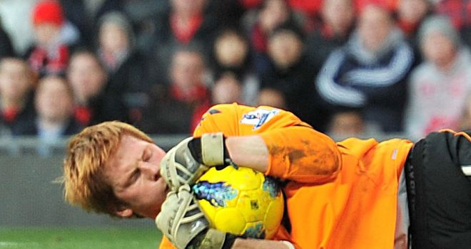 Adam Bogdan: Keen to hang on to Bolton's top flight status