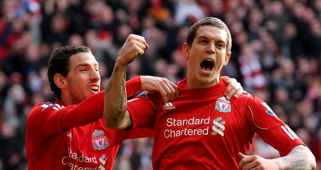 Daniel Agger: Continues to be linked with a big-money move to Barcelona