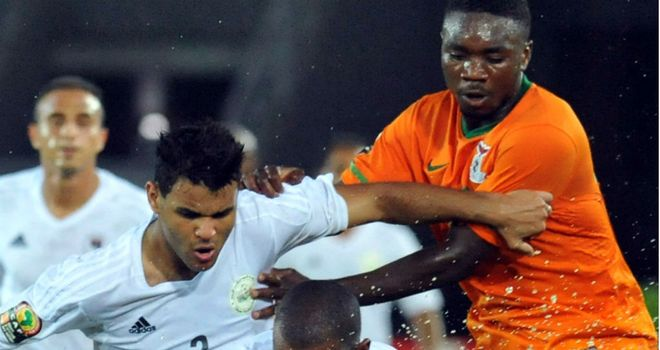 Ahmed Osman: Scored twice for Libya