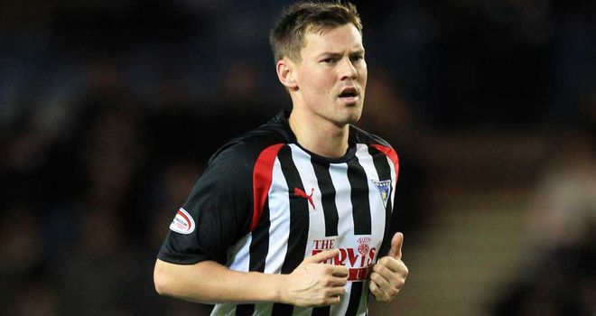 Andy Barrowman: Mixed day for Dunfermline goalscorer