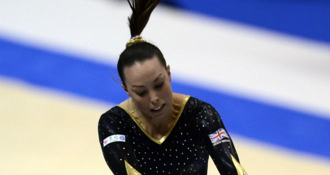 Beth Tweddle: chose only to compete on the bars