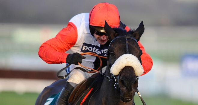Big Buck's: Looking to extend winning sequence by winning fourth World Hurdle