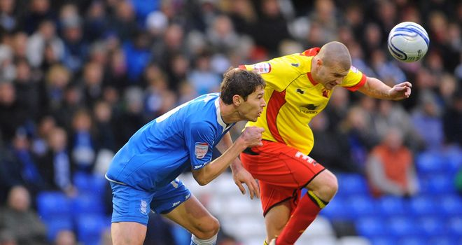 Carl Dickinson (r): Recalled by Watford