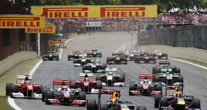 Interlagos: Cramped, chaotic but popular