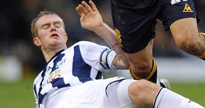 Chris Brunt: Struggling to be fit for the first game of the Premier League season
