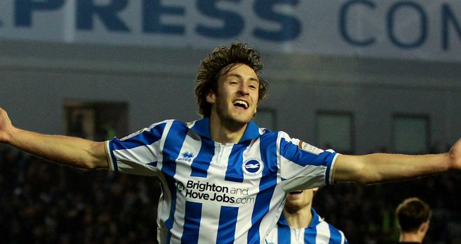 Buckley: Netted Brighton's leveller
