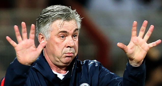 Carlo Ancelotti: Has revealed he was holding out for jobs at Arsenal & Spurs before joining PSG
