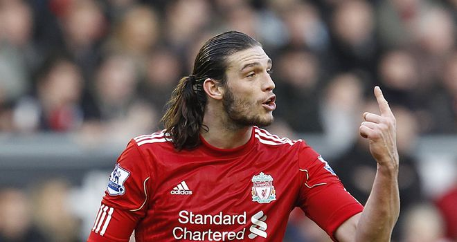 Andy Carroll: Liverpool striker was linked with a move to Manchester City in exchange for Carlos Tevez