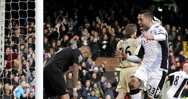 Clint Dempsey: Tim Howard believes American has been Fulham's best player this season