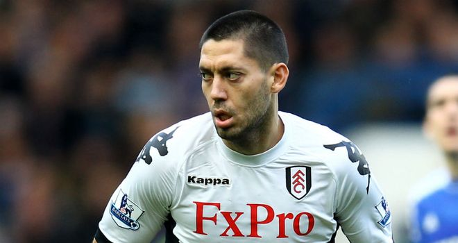 Clint Dempsey: In fine form for Fulham and talks have begun over a new three-year deal