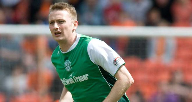 Derek Riordan: Worked with Derek Adams during his time at Hibernian