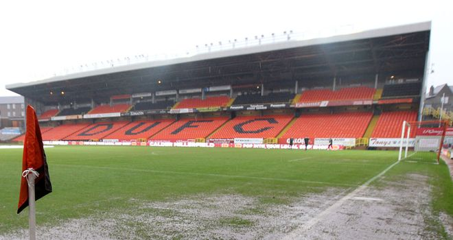 Tannadice: Dundee United are strongly against the formation of an SPL 2