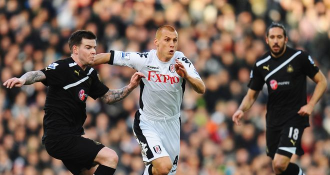 Steve Sidwell: Facing a further four weeks on the sidelines