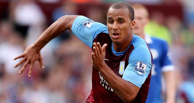 Gabriel Agbonlahor: The striker has been suffering with back and hamstring problems