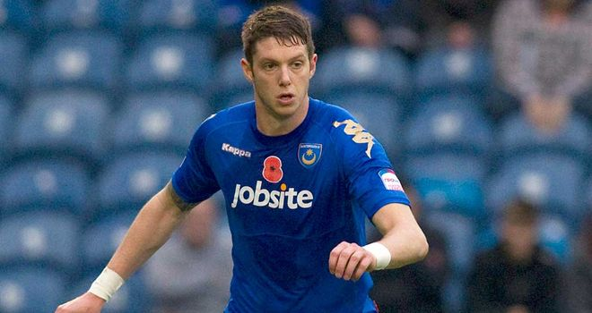 Greg Halford: Focused on events on the field as Portsmouth continue to struggle off it
