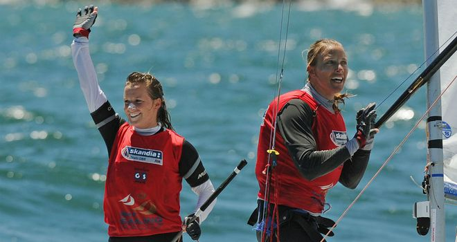 Hannah Mills and Saskia Clark: On course for Olympic success