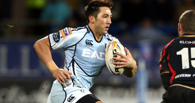 Gavin Henson: Cardiff back suspended by club with immediate effect