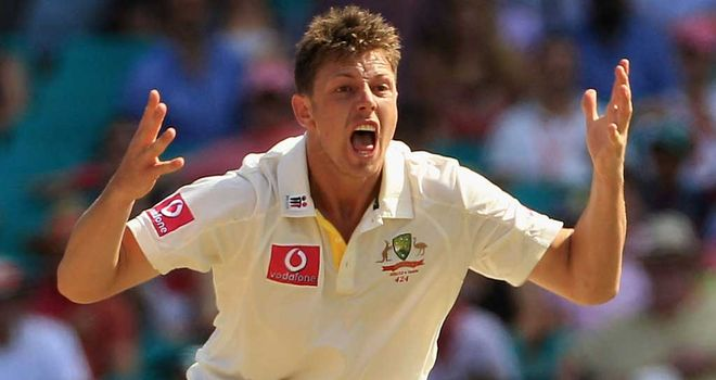 James Pattinson: Has resumed training