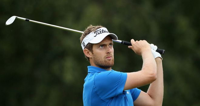 Jamie Moul: Hoping to take inspiration from Luke Donald