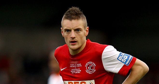 Jamie Vardy: Could be loaned back to Fleetwood