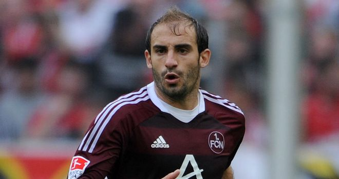 Javier Pinola: Nurnberg say there is 'no truth' in reports of a return to Argentina