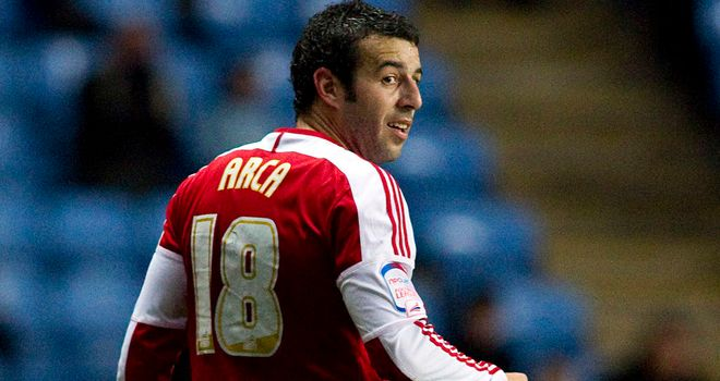 Julio Arca: Has left Middlesbrough
