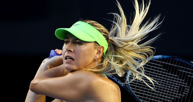 Maria Sharapova has now lost two of the last three grand slam finals