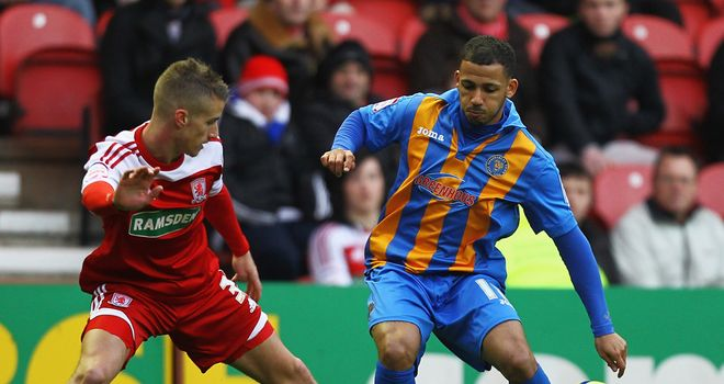 Lionel Ainsworth: Former Shrewsbury winger had to choose between Port Vale and Rotherham in the summer