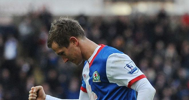 Morten Gamst Pedersen: Scored Blackburn's winner against Leicester