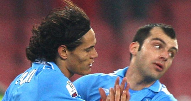 Goran Pandev: Found the net for Napoli