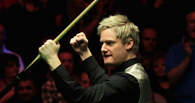Neil Robertson: An emotional few days for the Australian
