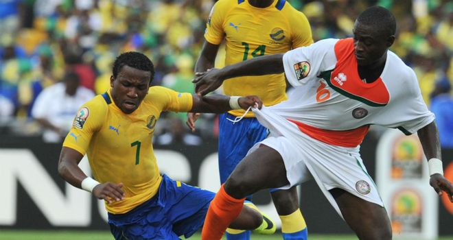 Stephane Nguema: Scored Gabon's second goal
