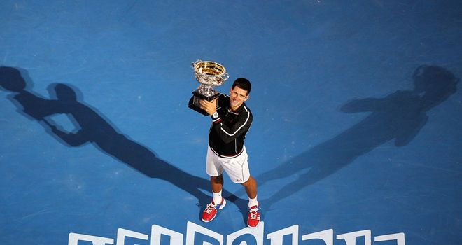 Novak Djokovic will defend the Australian Open title in January
