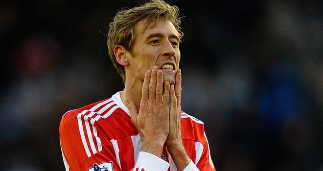 Peter Crouch: Says Andy Carroll's problems are psychological