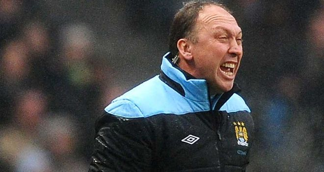 David Platt: Not worried by Manchester City's misfiring strikers