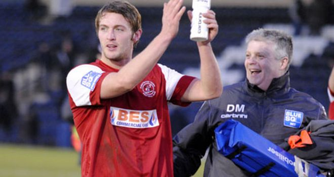 Rob Atkinson: Set to return for Accrington
