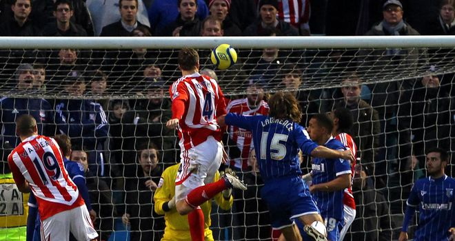 Robert Huth: Struck for Stoke